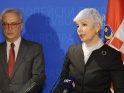 Press Point EP President and  Prime Minister of Croatia in Strasbourg