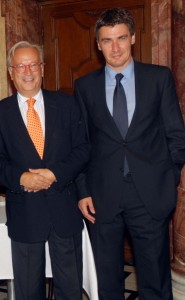 Hannes Swoboda und Zoran Milanovic