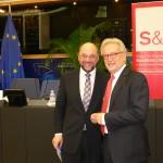 Martin Schulz und Hannes Swoboda