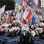 Wahlkampfveranstaltung in Malta