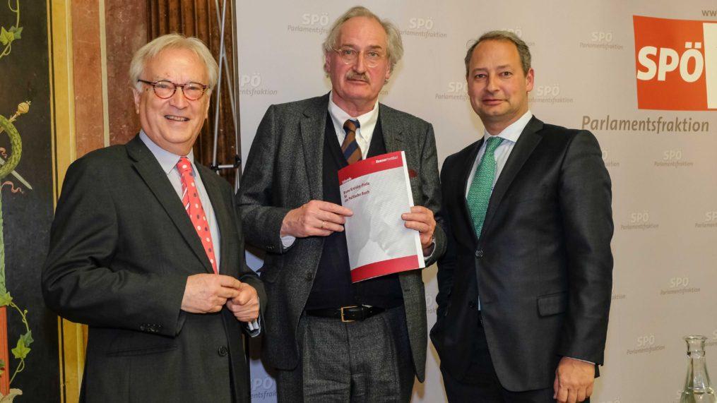 Hannes Swoboda - Axel Honneth Verleihung